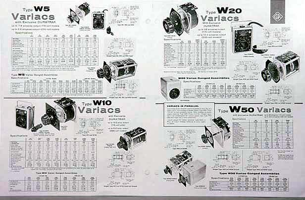 VARIAC COMPOSITE SHEET N5 technipower general radio variac staco powerstat variable auto powerstat variable autotransformer wiring diagram at soozxer.org